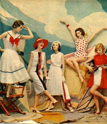 vintage nautical summer dresses