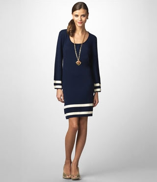 Lilly Pulitzer navy blue dress