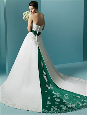 Glamour wedding dress picture