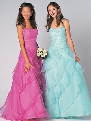 full color bridal dress design