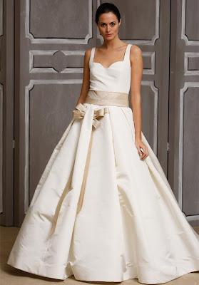bridal gown trend 2009 by carolina harrera picture1