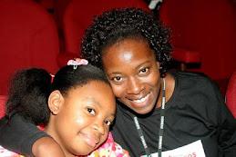Claudia Alexandre e filha