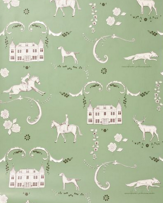Home planning anthropologie wallpaper for Anthropologie wallpaper
