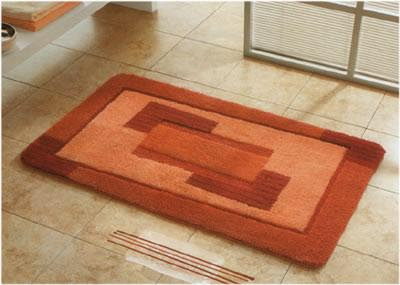... Fervor Of Aestheticism With The Prefect Bathroom Rugs. One Can At Ease  Revitalize The Essence Of The Beauty Of The Glamorous Bathroom In His Or Her  ...