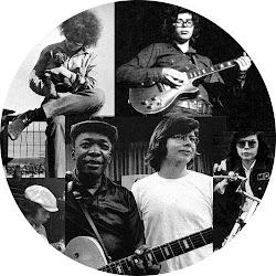 Alan Wilson nos estúdios com John Lee Hooker em 1970