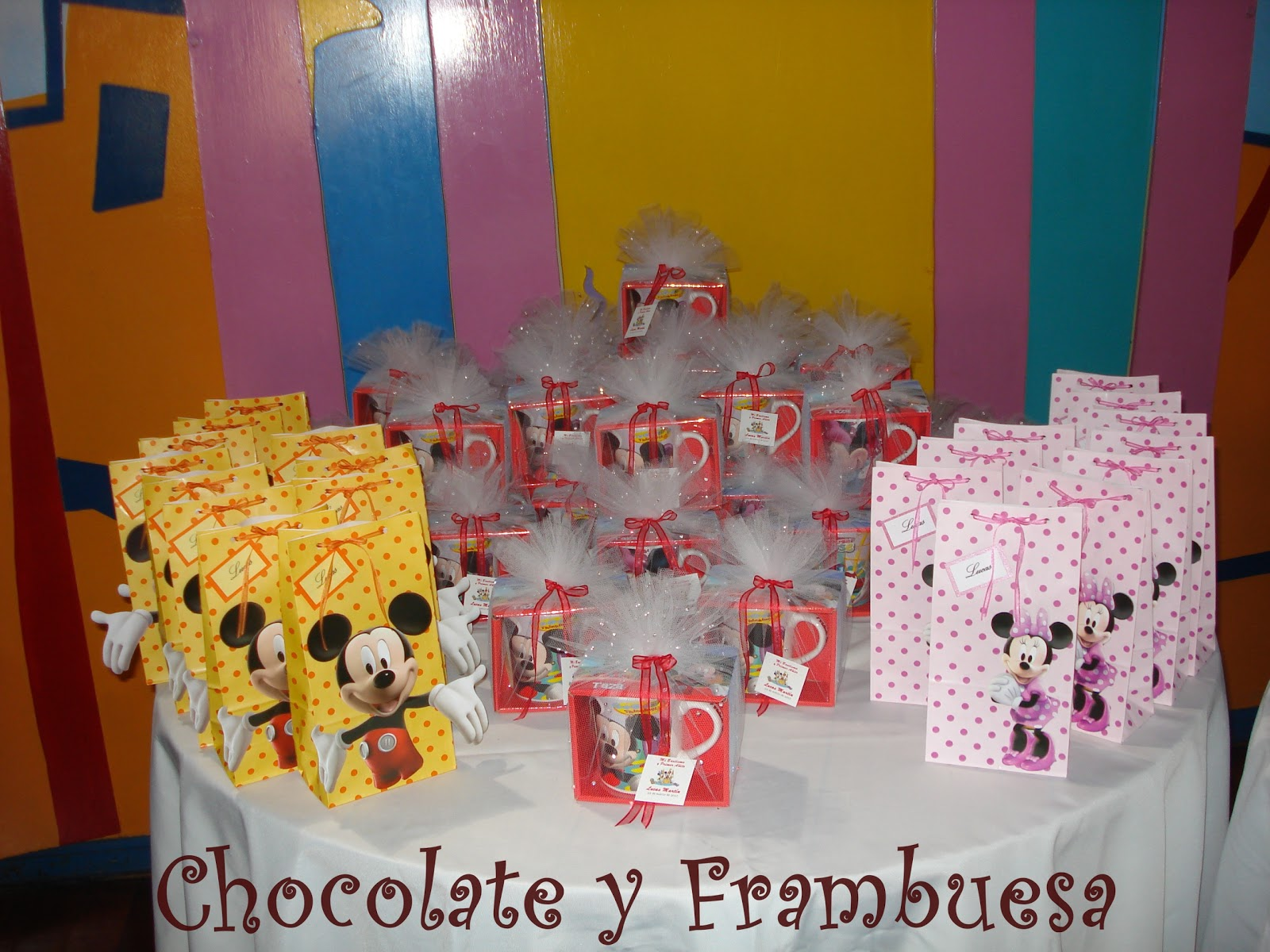 tortas de mickey y minnie