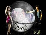 Nem a lua consegue separar esse amor!!!!!!