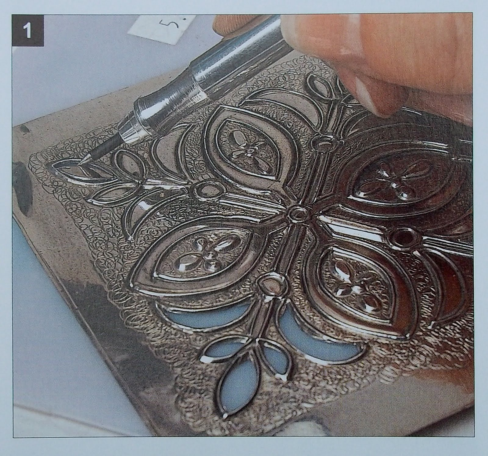 Metal embossing services from Advantage Fabricated Metals