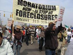 Moratorium NOW! to Stop All Forclosures and Evictions