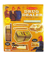 DRUG DEALER MAGNET SET
