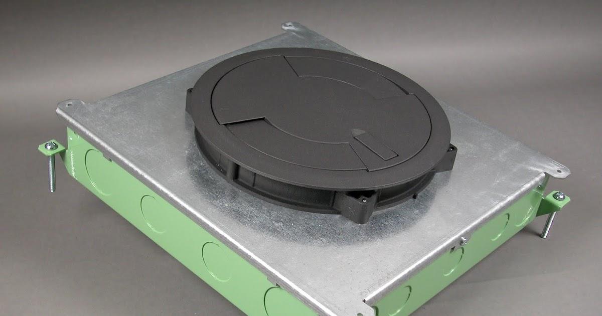 Wiremoldupdate Wiremold 174 Floor Box Now Accepts Round Poke