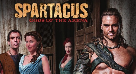Spartacus: Gods of the arena 3 temp.