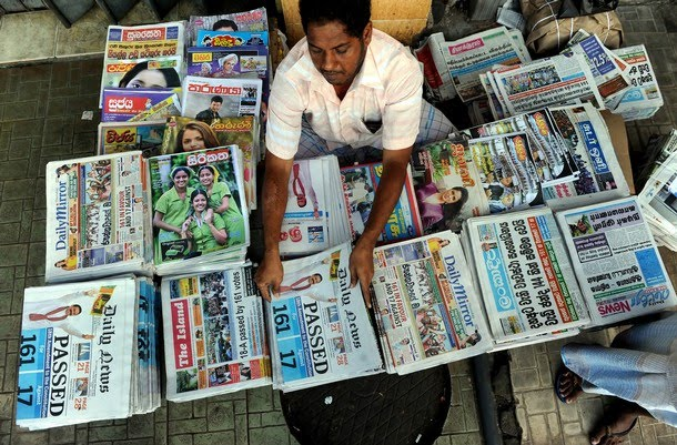 N ewspaper editors in Sri Lanka on Tuesday refused to publish pictures of ...