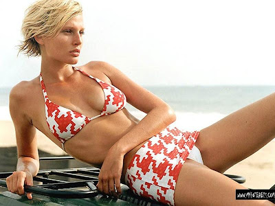 Bridget Hall, Sexy American Baby Wallpapers