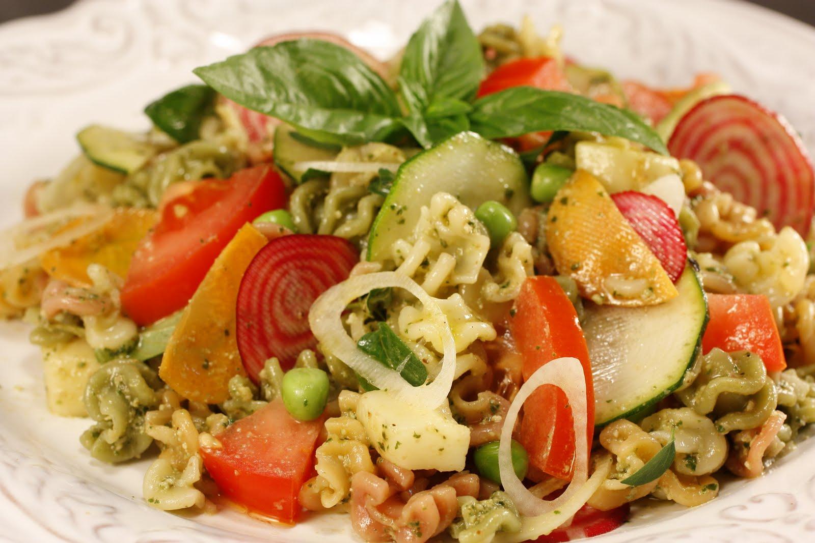 Chef Chuck's Cucina: Chef Chuck's Pesto Pasta Salad