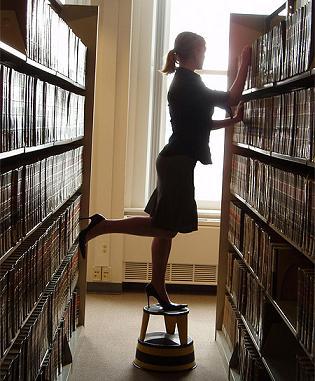 Sexy librarian Nude Photos 75