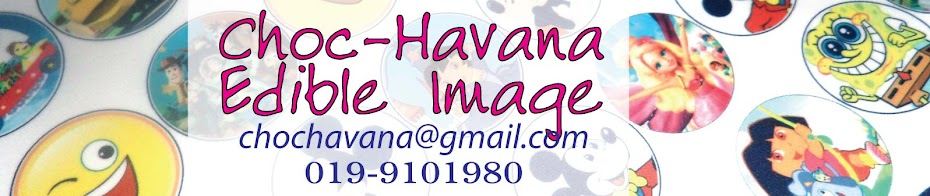 Choc.Havana Edible Image