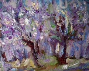 Акации във виолетово / Acacias in Violet