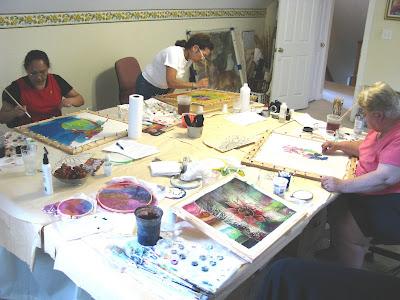 deborah younglao silk painting class