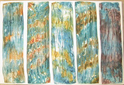 Deborah Younglao silk scarves