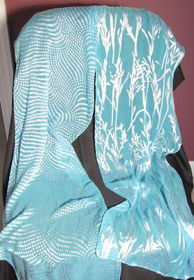 Deborah Younglao devore scarves