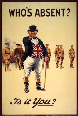 a WWI recruitment poster