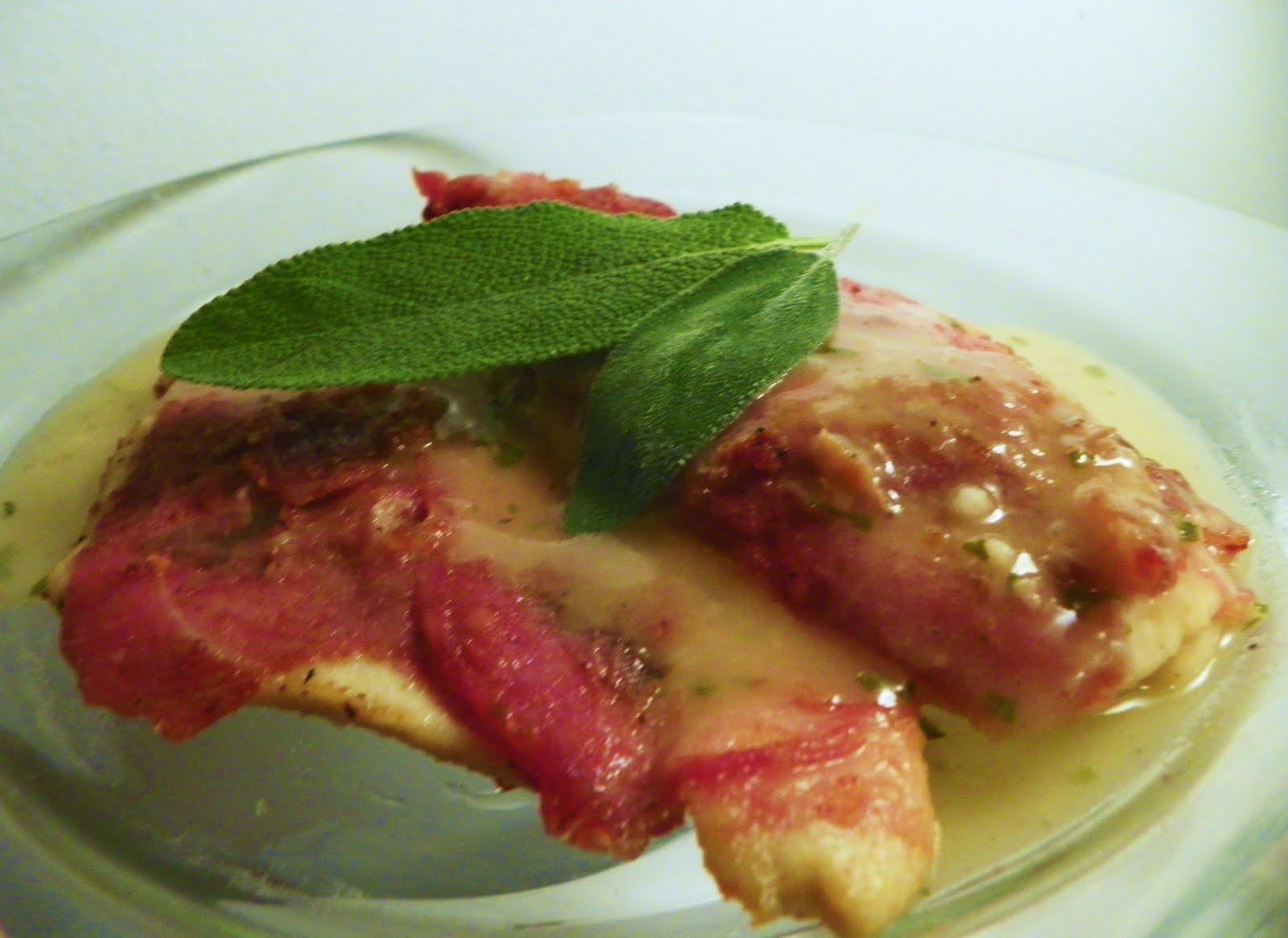 ... Dinner Tonight Ladies? *RECIPES*: Chicken Saltimbocca with Lemon Sauce