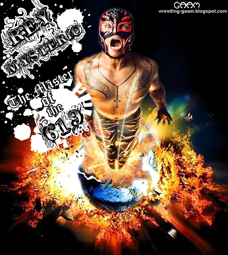 Rey Mysterio Wallpaper Rey Mysterio - The Master Of The 619