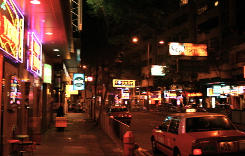 wan chai the red light district