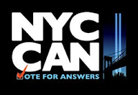 Poster for NYCCAN Vote for Answers
