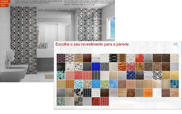 Simulador de revestimentos arquitetura interiores - Simulador de interiores ...
