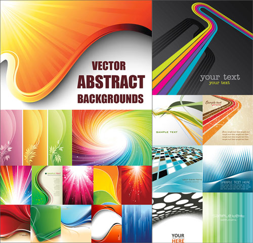 Abstract Backgrounds vector 2