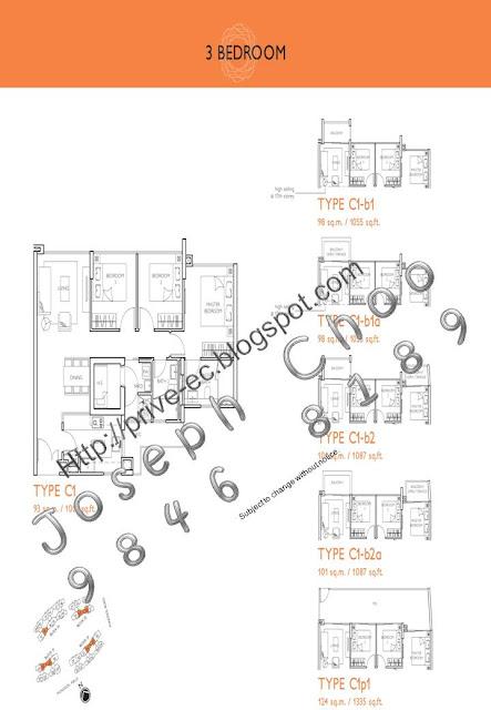 prive executive condo ec at punggol floor plan site plan seaside residences singapore condo showflat 65 6100 1380