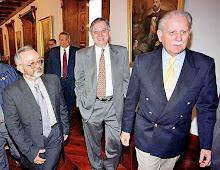 Jose Vicente Rangel y Raul Reyes