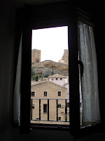 Uncastillo ... a través de la ventana