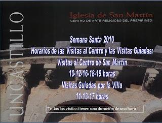 Iglesia San Martin, Uncastillo