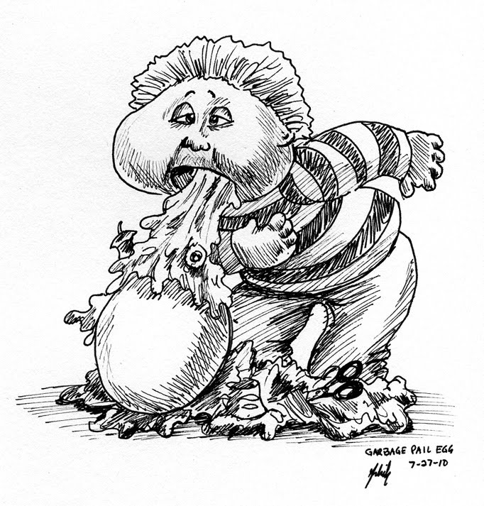 garbage pail kids coloring pages - photo#13