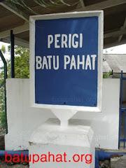 Papan tanda perigi Batu Pahat