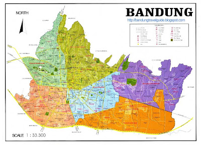 Bandung Map