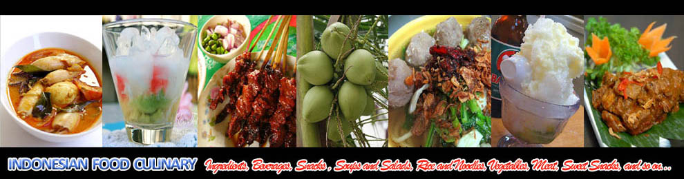 INDONESIAN FOOD CULINARY