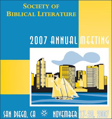 2007 SBL in San Diego