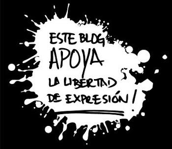 Este blog apoya la libertad de expresion