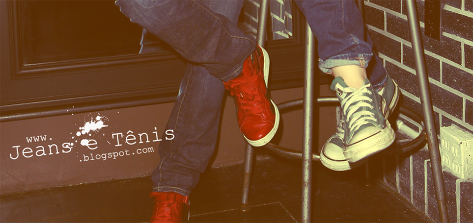Jeans e Tênis