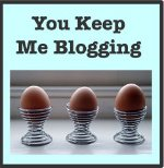 You Keep Me Blogging Award