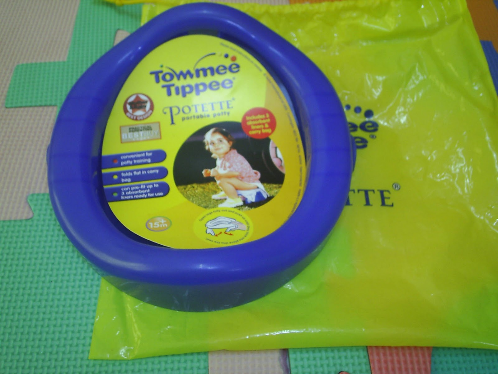 Adamaliff Preloved Items Tommee Tippee Potette Travel New