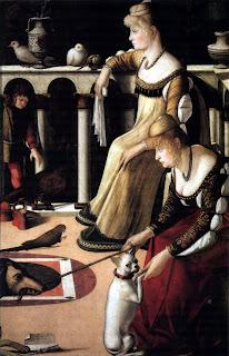 Две венецианки Витторе Карпаччо