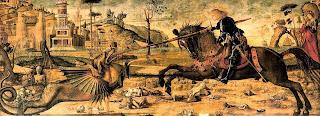 Карпаччо Св. Георгий убивает дракона