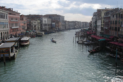 Венеция. Вид с моста Риальто