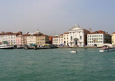 Венеция. Славянская набережная. Церковь Вивальди