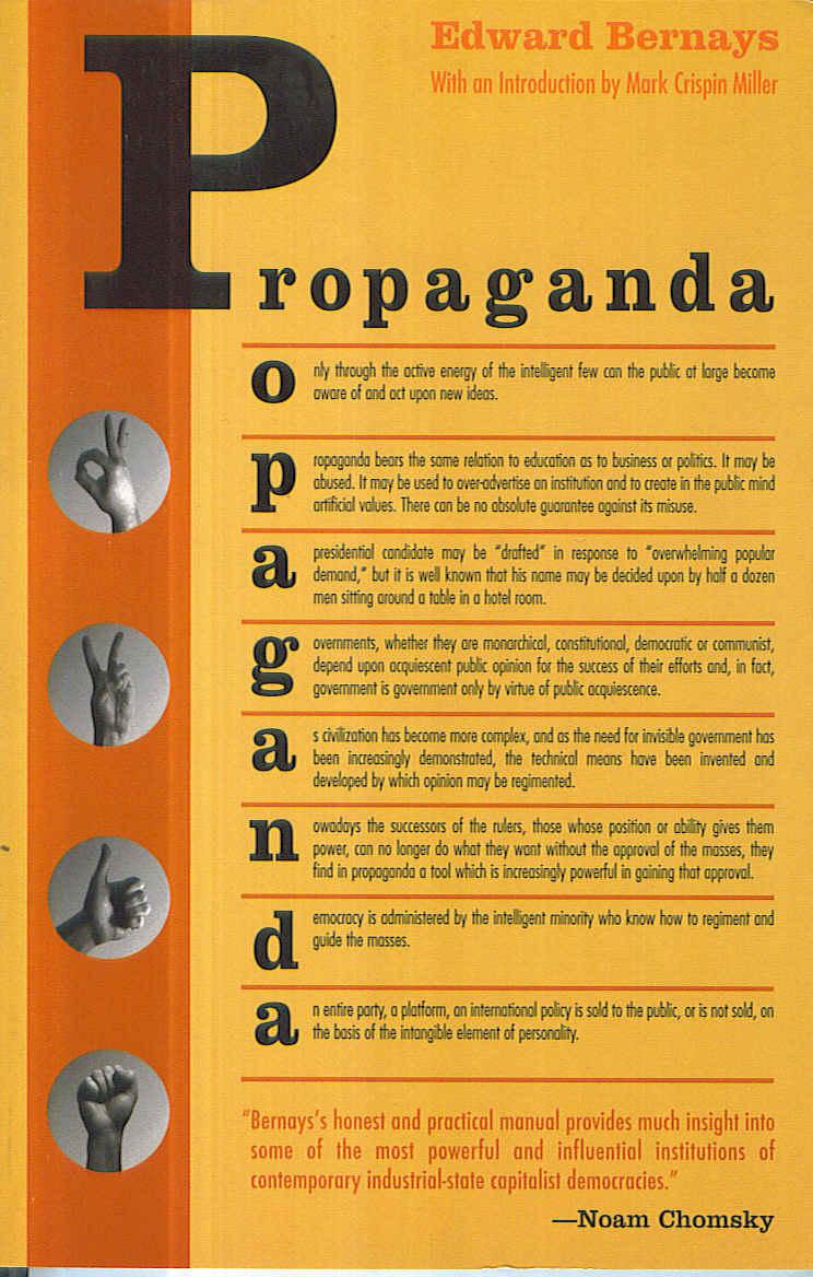 Eduard Barneys: Propaganda (Inglés)